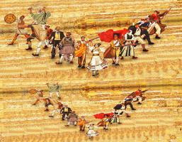 Mosaic on National Museum of history by sanderndreca