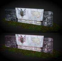 Muri i Beslidhjes - Lezhes by sanderndreca