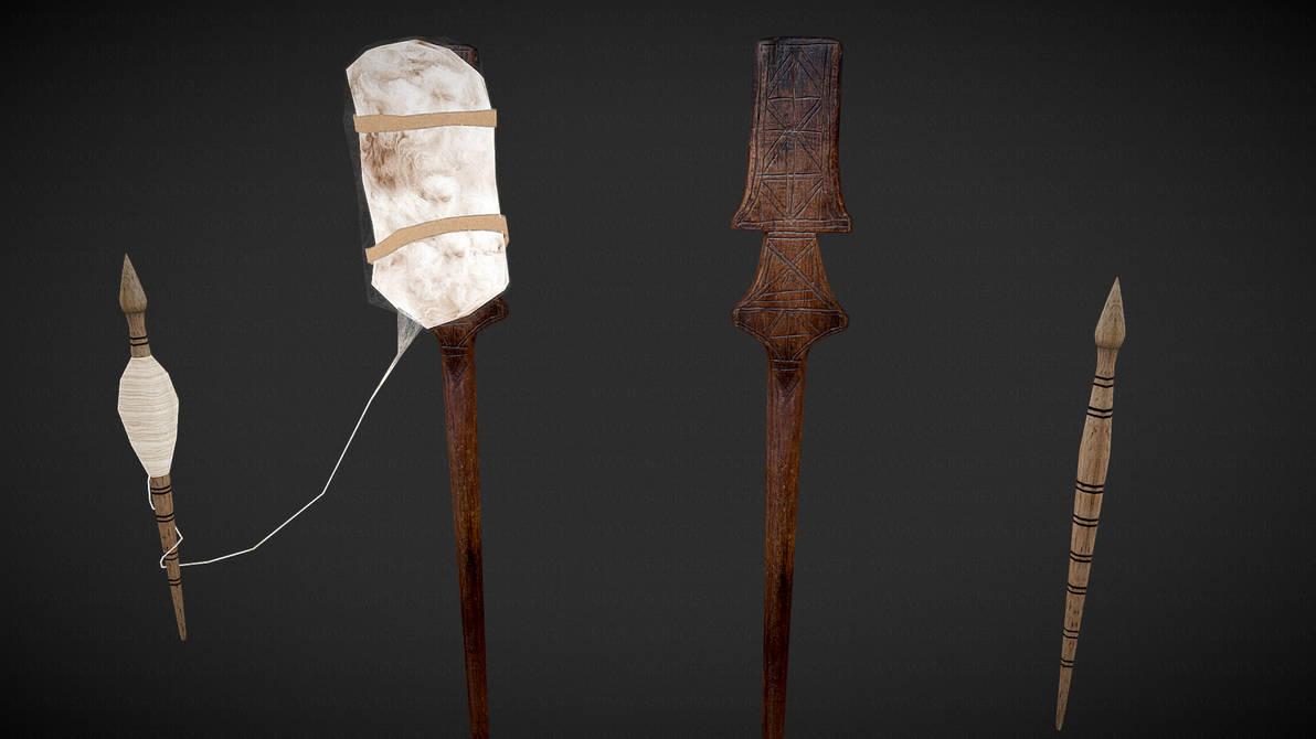Furka te tjerrjes se leshit 3D by sanderndreca
