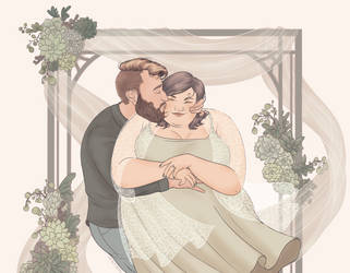 Ally Wedding Commission