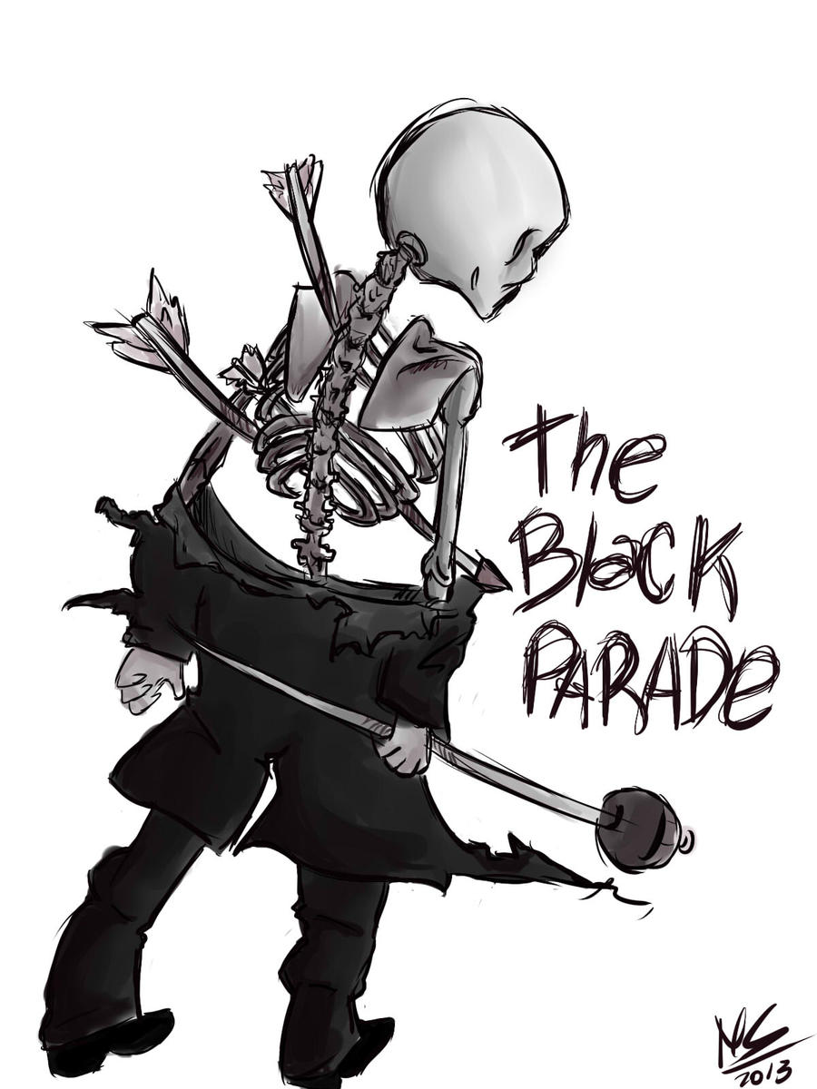 the black parade by rainbowmostacho