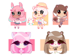 Moe Shop Adopt batching collab 1/5 OPEN +YCH