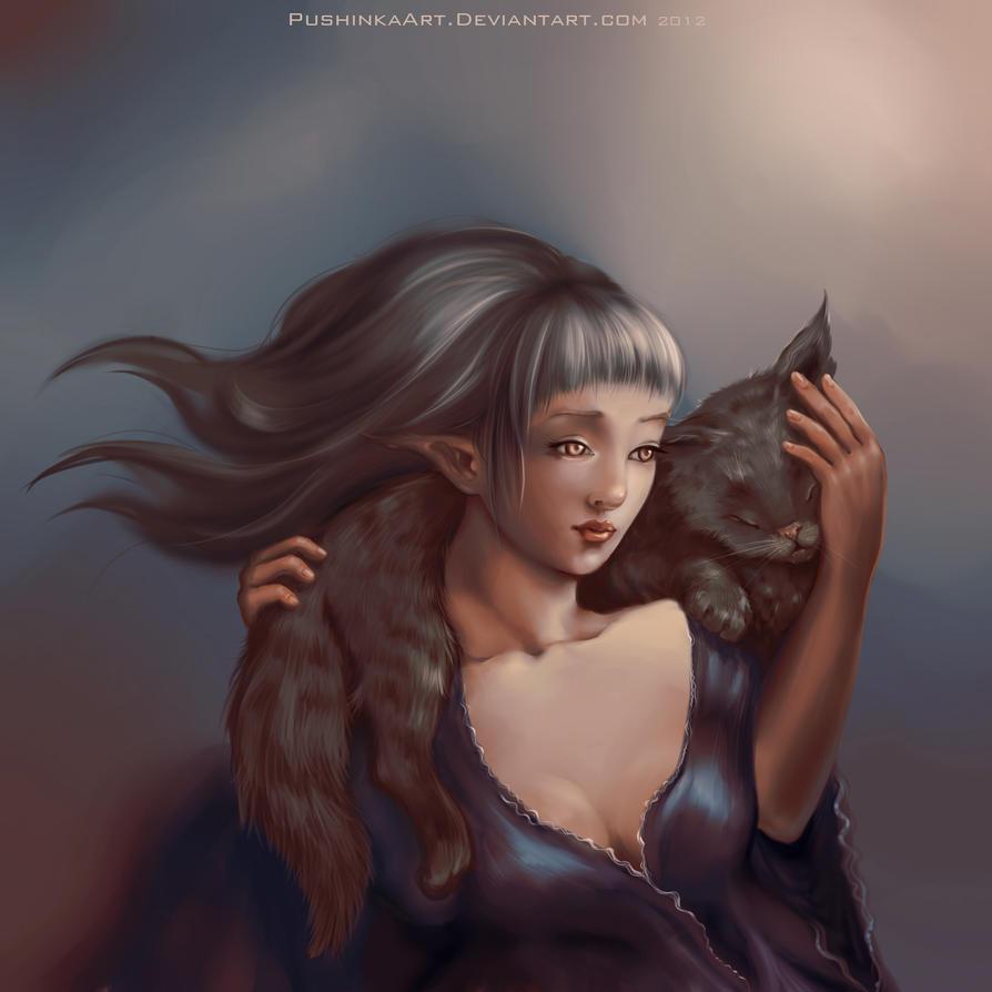 Tenderness by PushinkaArt