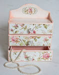 Box for jewelry Rose Garden by PushinkaArt