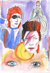 David Bowie by Becky0109