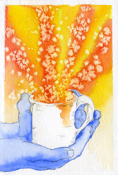 Tea is comfort, warmth and inspiration
