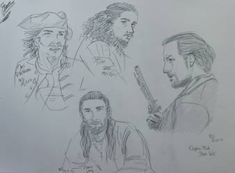 Black Sails Doodles by Becky0109