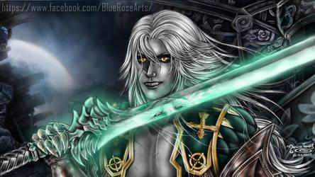 Alucard (Smile) - Castlevania LOS2 ((Wallpaper)) by Bluue-Rose
