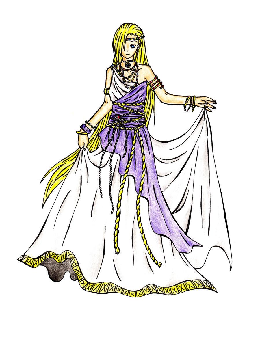 Aphrodite Greek Goddess Cartoon Greek goddess by ntxooxyoojAnime Greek Gods And Goddesses