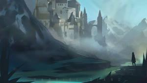 Fantasy Environment Illustration