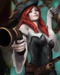 Miss Fortune Fan art League of Legends
