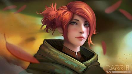 Fantasy Illustration   Ranger