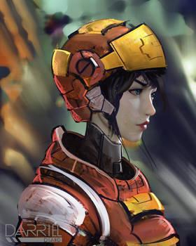 Scifi Portrait