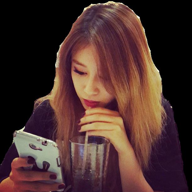 jiyeon t-ara selca png by Chezeewolf on DeviantArt