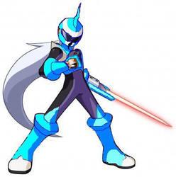 Protoman Blues Style by darkdragonranger