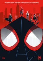 SPIDER-MAN: INTO THE SPIDER-VERSE Poster Art by RicoJrCreation