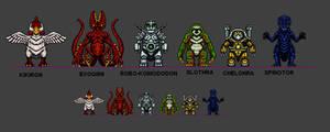 Kaiju Combat Monsters 9