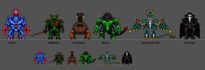Kaiju Combat Monsters 13