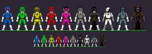 Universal Monster Power Rangers