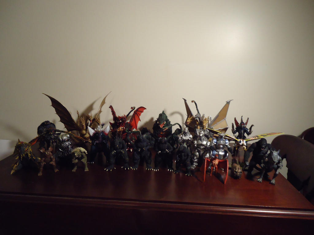 Kaiju Collection 5/25/2015 by CosbyDaf