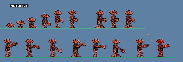 NES Matango Spritesheet by CosbyDaf
