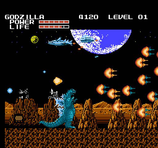 NES Godzilla Kaizo