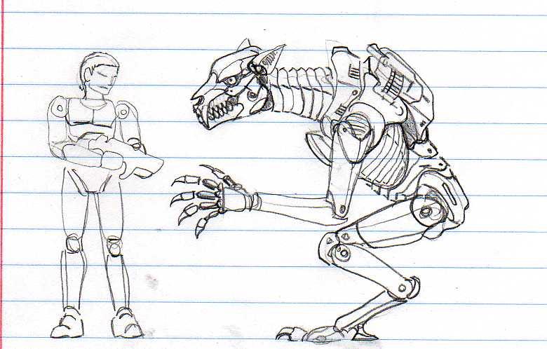 Wolf Bioweapon sketch by CosbyDaf