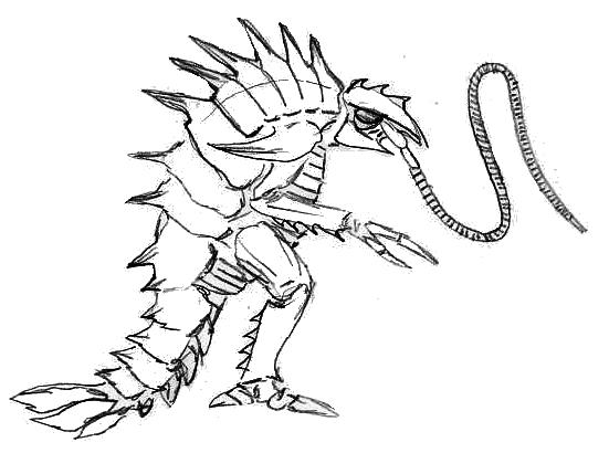 Amphipod Crustacean Kaiju #2 by CosbyDaf