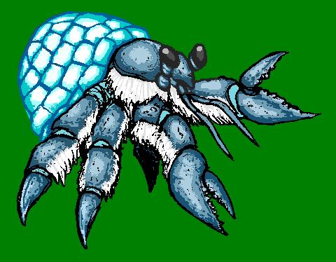 Igloo crab by CosbyDaf