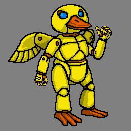 Mecha Duck by CosbyDaf