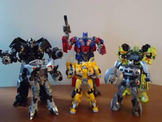 Studio Series Autobots by CosbyDaf
