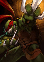 TMNT Raphael by Nutthead