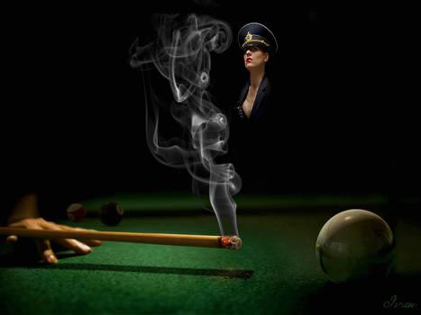 Smoking cue