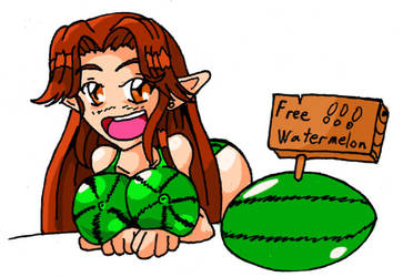 Worst. Watermelon. Ever... by jimsugomi