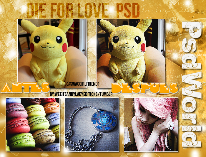 Psd Coloring Die For Love by PSDWorld2-0