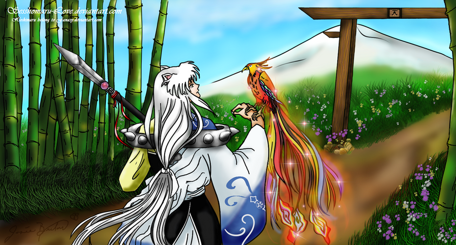 Hoshimaru and the Phoenix by Jojofanart