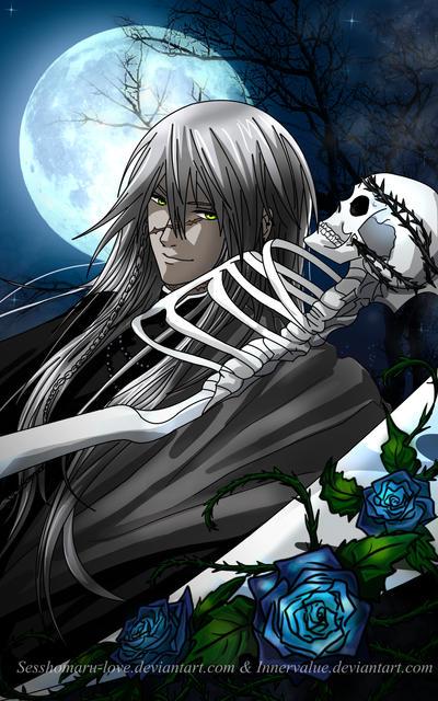 Undertaker The Shinigami by Jojofanart