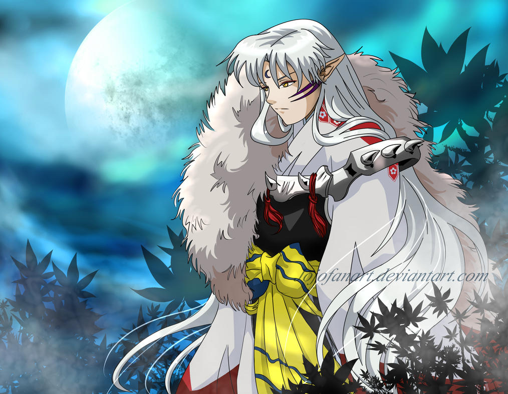 Lord Sesshomaru by Jojofanart