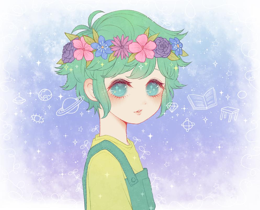 OMORI The Flower Boy By Tourniiquett On DeviantArt
