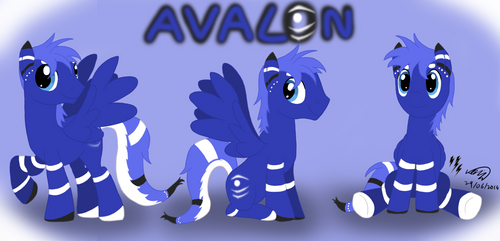 Avalon the Pegasus by Electuroo
