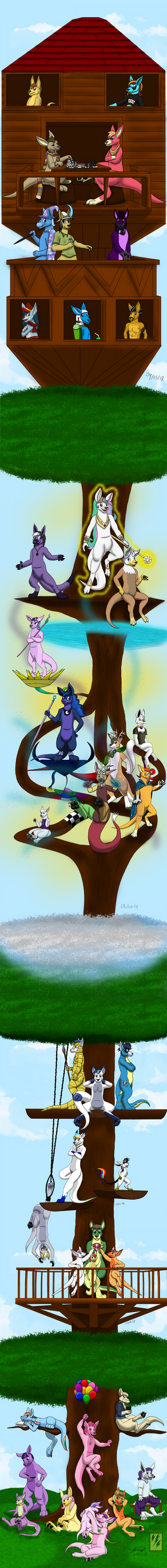 The Roo Tree by Electuroo