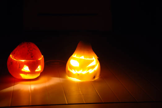 lil' Jack O'lanterns