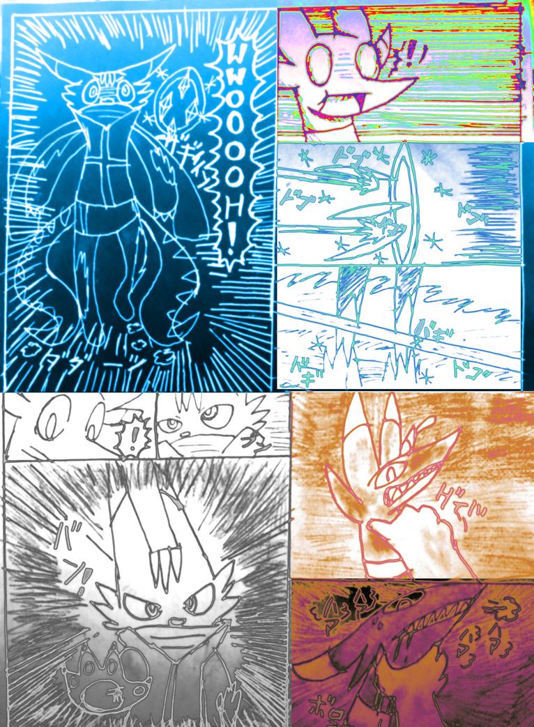Choosen juan s2 round 1 Skrilljr vs zero page 4 by Ninja-Cat64