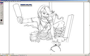 Inking - WIP by forbesrobertson