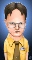 Dwight Schrute by forbesrobertson