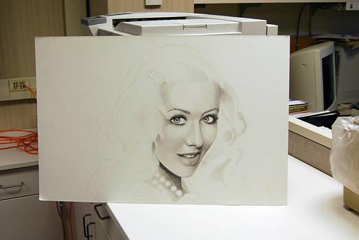 Christina Aguilera - WIP 3 by forbesrobertson