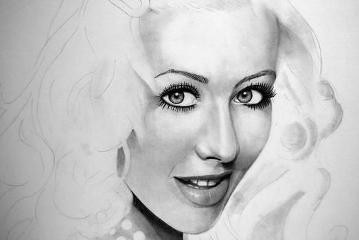 Christina Aguilera - WIP 4 by forbesrobertson