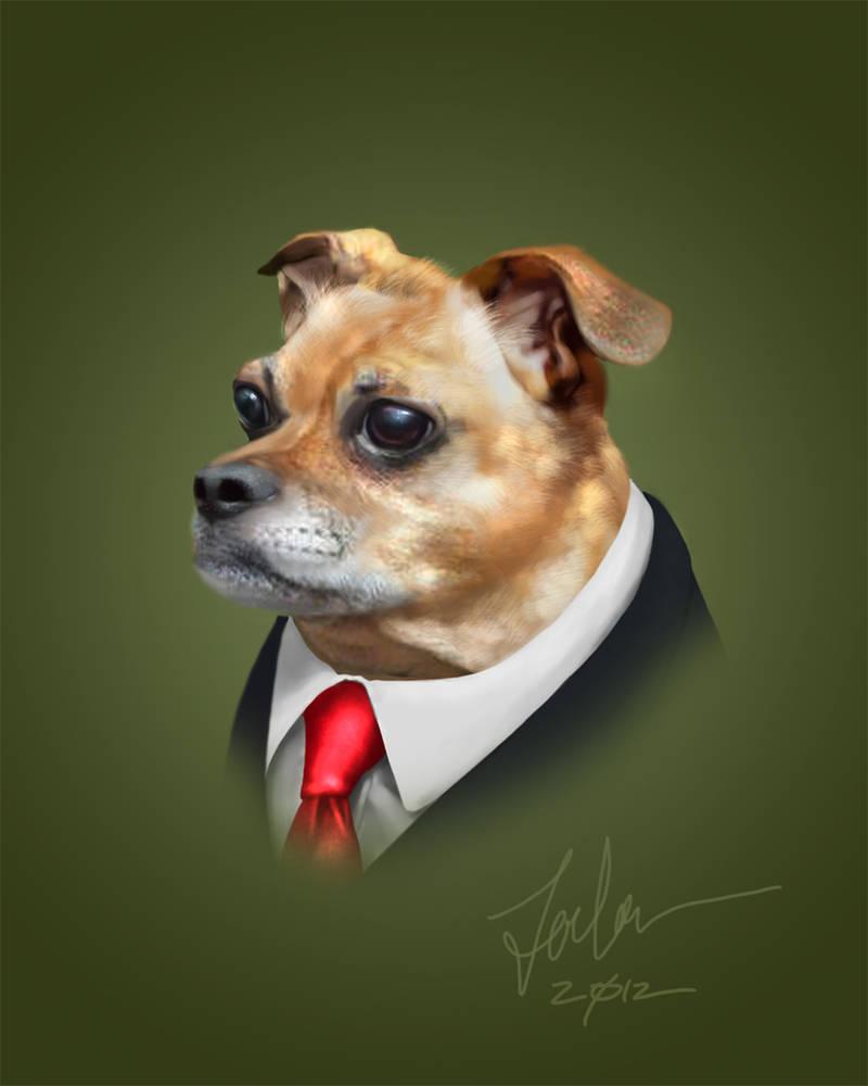Portrait of Riley by forbesrobertson