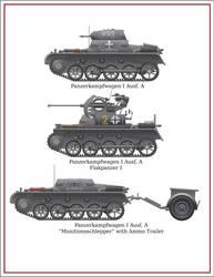 Panzerkampfwagen I Ausf. A w/variants