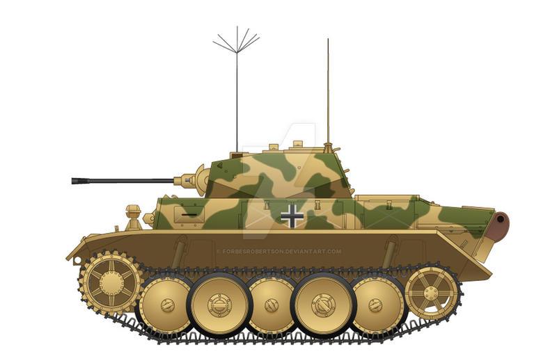 Panzerkampfwagen II Ausf. L by forbesrobertson